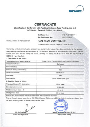 ISO15848-1-Ball-Valve